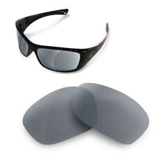 Polarized Replacement Lenses for Oakley hijinx grey color