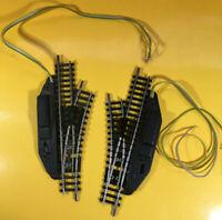 Minitrix 14962 - elektromagnetisches Weichenpaar - rechts-links - R 1 - 24 °