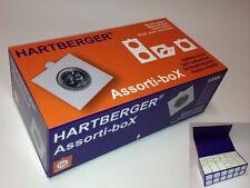 HARTBERGER ASSORTIBOX - 1200 ZELFKLEVENDE MUNTHOUDERS IN LUXE OPBERGDOOS