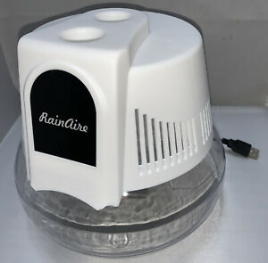 RainAire Water I Air Purifier Ionizer 3 Watts USB cable Compare To Rainmate