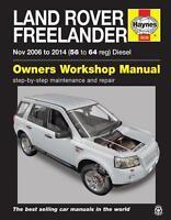Land Rover Freelander 2006-14 Reparaturanleitung workshop service repair manual