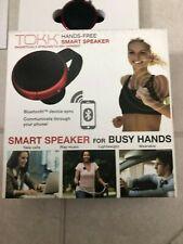 Tokk Smart Wearable Assistant Hands-Free Bluetooth Red Speaker Phone