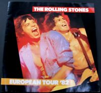 The Rolling Stones Program Tattoo You European Tour 1982