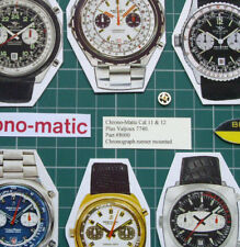 #8000 Chronograph Runner 1970s Chrono-Matic Breitling Heuer Cal.12+14+Val 7740