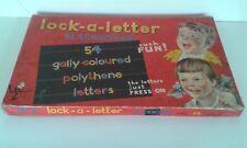 Vintage 1960s Lock a Letter Blackboard.