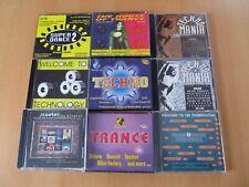 Techno und Trance Sammlung, 14 CDs in 9 Alben