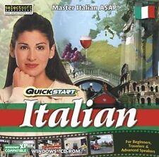 QuickStart Italian  Use Your Native Language XP Vista 7 8  NEW  Immersion Method