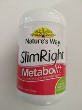 Nature's Way SlimRight Metabolift 90 Film Coated Tablets NEW