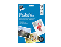A4 High Gloss Photo Paper Sheets 230gsm - Pack of 10 fast dispatch
