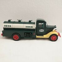 Vintage 1980 The Hess Gasoline Tanker Truck Toy Red Switch Good Working Lights