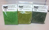 Scenic Flock Material Coarse Green Multipack - 3 x 20g Packs -  Wargame Diorama