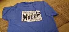 MODELO CERVEZA Blue T Shirt - Men's 3XL NEW