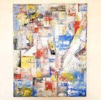 Original Abstract Oil Painting Contemporary Art Cubism Modern Art Canvas 50X40cm