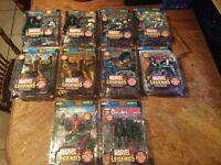 marvel legends series 5 Lot of 11