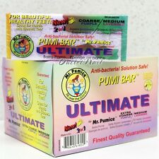 LOT 12 Mr. Pumice PUMI BAR ULTIMATE 2 IN 1 Stones COARSE Purple/ MEDIUM Lavender