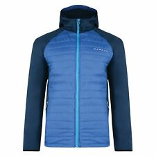 Dare2b Midway Men's Quilted Insulated Hooded Hybrid Golf Walking Jacket RRP £60
