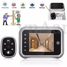3.5'' LCD Visual Door Peephole Monitor Doorbell Video Camera Viewer Night Vision
