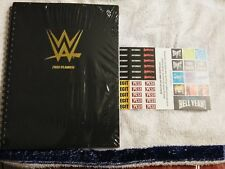 WWE Slam Crate Lot with  JANUARY Planner Booklets SEALED  PLUS  MARCH stickers