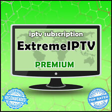 """6 Month"" Extreme IPTV +20000 Ch&VODs WORLDWIDE ""PREMIUM"" IPTV SUBSCRIPTION"