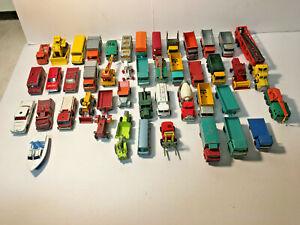 Lot Vintage Diecast Cars Matchbox, Hot Wheels, Midgetoy, Corgi,Tootsietoy,+++