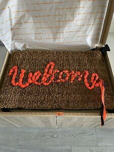 Banksy Welcome Mat Gross Domestic Product Love Welcomes Original 100% Authentic