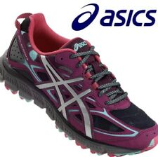 Asics Gel Scram 3 Women's Athletic Trail Running Shoes T6K7Q Size8.5D Purple/Gry