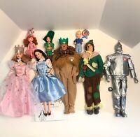 Wizard of Oz Barbie Dolls - Complete Set of 8 - Mattel 1999 Talking Dorothy