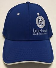 Blue Hawk Audio Video Hat Small Med Baseball Cap Dickinson Bismarck North Dakota