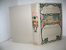 Castles Chateaux of Old Touraine Loire Country Vintage LC Page decorative cover