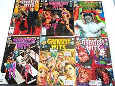 GREATEST HITS #1-6 VF+ Full Set! DC Vertigo 2008 Rock 'N' Roll Heroes! Beatles!