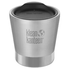 Klean Kanteen Tumbler Vacuum Insulated With Lid 8oz Brushed Stainless