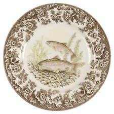 Spode WOODLAND Rainbow Trout Salad Plate 7921924