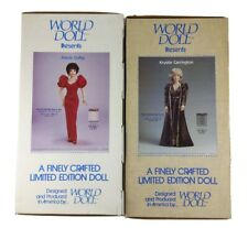 World Doll Celebrity Collection Dynasty Krystle Carrington And Alexis Colby 19�