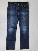 Levis 511 Slim Herren Jeans Hose Blau Stonewashed W36 L32