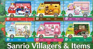 All Sanrio NFC Amiibo Card Animal Crossing