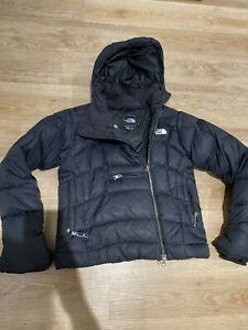 The Northface Puffer Ski Black Jacket 600 Size S