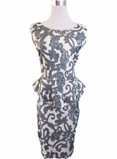 Jacquard Sleeveless Women's Round Neck Dresses