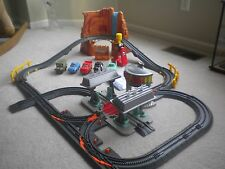 Fisher-Price GeoTrax Disney Pixar CARS Mega Set - Complete Radiator Springs/Flo