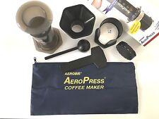 AeroPress A82 Kaffeebereiter mit Tasche&350 Blatt Papierfilter 1-3Tassen Kaffee