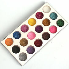 18 Mix Colors Glitter Powder Dust Set for Acrylic Nail Art Decoration Tips