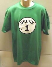 Drunk 1 2 3 4 5 6 T-shirt St Patrick Day Funny Drunk Halloween Matching Tees