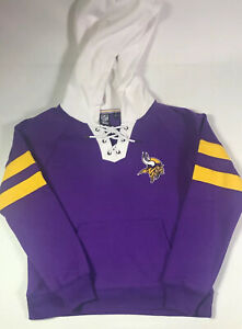 NWT Minnesota Vikings Hoodie Women Medium Purple MSRP $65