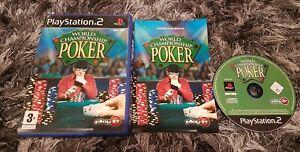 World Championship Poker  PS2 - Sony PlayStation 2  Free Postage