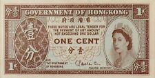 Hong Kong_1 cent_1961_unc banknote