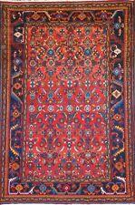 "C 1930 Antique Persian Nahavand Exquisite Hand Made Rug 5' 8"" x 8' 2"""