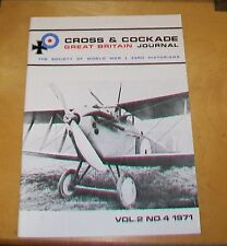 CROSS & COCKADE GREAT BRITAIN JOURNAL VOL 2 No 4 1971  29 SQN RFC / RAF INDIA