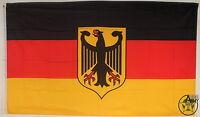 NEU Deutschland Fahne deutsche Flagge Sturmflagge BRD Fahnen D 90x150 mit Adler