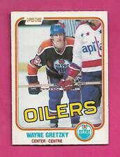 1981-82 OPC # 106 OILERS WAYNE GRETZKY VG+ CARD (INV# D0909)