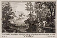 G.STEIN(*1687) nach le CLERC, Tobias und der Erzengel Raphael, KSt.