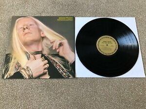 "JOHNNY WINTER - STILL ALIVE AND WELL : EX USA 12"" VINYL QUADRAPHONIC LP CQ 32188"